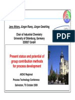 Ahlers Group Contribution Methods