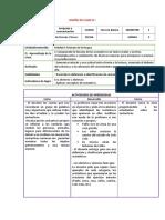 Diseño de Clase de Lenguaje 3 y 6