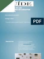 Aplicación de Los Transistores en Circuitos Electricos
