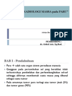 Radiologi Massa Paru