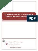 Consejo Pontificio Para El Diaologo Interreligioso