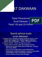 Surat Dakwaan 1