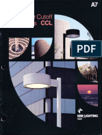 Kim Lighting CCL Curvilinear Cutoff Luminaires Brochure 1983