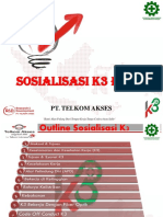 Sosialisasi K3 PTTA