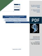 Propuesta metodológica para la evaluación de impacto al Programa S225