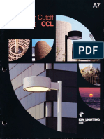Kim Lighting CCL Curvilinear Cutoff Luminaires Brochure 1987