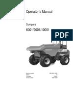 6001 Operators Manual  DUMPER