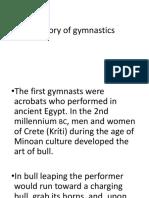 Gymnastics Intro