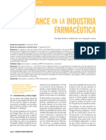 Compliance en La Industria Farmaceutica