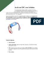 Programación de un ESC con Arduino para el motor  brushelss.docx