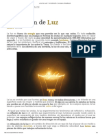 ¿Qué Es Luz_ - Su Definición, Concepto y Significado