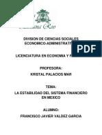 Proyecto Final- Importancia Del Sistema Financiero en La Economia Actual