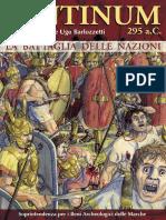 The battle of Sentinum, 295 BC