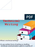 1. Technical Writing