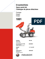 1001 Parts Manual Tier III DUMPER
