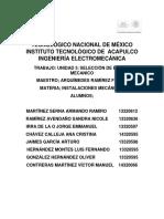 Unidad 3 Instalaciones Mecanicas