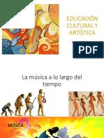 Educación Cultural y Artística