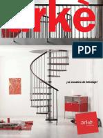 Escaleras Caracol Rectas Circulares Interior Arke Catalogo