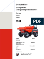 6001H Parts Manual Tier III  DUMPER
