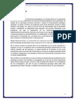 La Importancia de Los Instrumentos Psicológicos y Manejo Ético en La Evaluación.