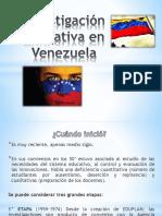 Investigación Educativa en Venezuela