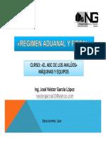 3régimen Aduanal y Fiscal