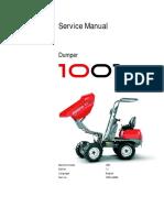 1001 Service Manual Tier III