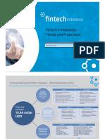 Fintech Indonesia Latest Data 2017