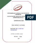 Act. 06 Bonos y Acciones
