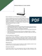Caracteristicas Técnicas AP Tp-link Tl-wa500g