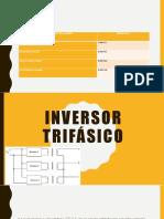 Inversor trifásico