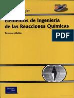 Elementos de Ingeniería de Las Reacciones Químicas [Fogler]