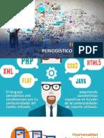 Características del lenguaje periodístico en la web