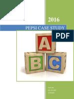 pepsi case study