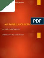 002. Form. Polinomica