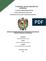 Protocolo Herbáceas y Arbustivas