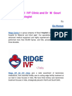 Ridge IVF IUI IVF Clinic and Dr M Gouri Devi Gynecologist