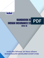 Handbook on Indian Insurance Statistics 2015 16