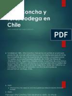 Viña Concha y Toro, Bodega en Chile