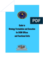 Handbook Guide to Strategy Formulation