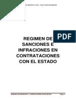 Regimen de Sanciones e Infraciones en Contrataciones Del Estado