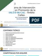 Proyecto de IntervenciÓn Social en PromociÓn de Salud Bucal Unmsm 17