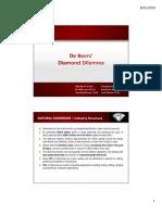 De Beers Case Analysis Presentation