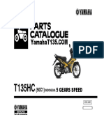 Yamaha T135 Parts Catalog