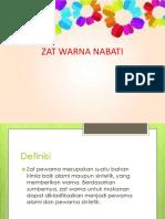 Zat Warna Nabati