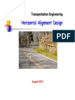 Horizontal Alignment I