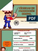 Tecnicas de Produccion Grupal