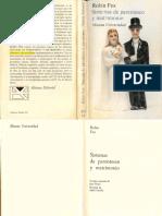 Fox, Robin - Sistemas de Parentesco y Matrimonio