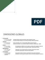 DIMENSIONES GLOBALES