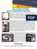 Power Generators Fire Protection